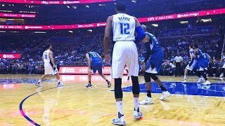 Floor Seats at an Orlando Magic Basketball Game!