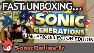 Sonic Generations Limited  Collector Edition - Short Unboxing