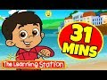 A Ram Sam Sam Song ♫ The Learning Station ♫ 31 Mins Compilation ♫ s for Kids