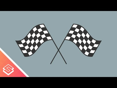 Inkscape For Beginners: Vector Checkered Flag