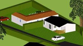 Plan 3D - Résidence la sablière Mont Noir 59270 Bailleul-Saint Jans Cappel