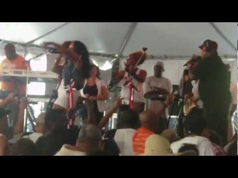 Be'la Dona Band Live @ Bar B Q Battle 2012 Part 2 Ft. Sugar Bear
