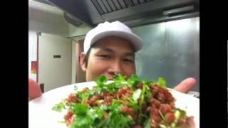 ก้อยปลาทูน่าtuna Salad Thai Style