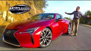 2018 Lexus LC 500 FIRST DRIVE REVIEW (2 of 2)