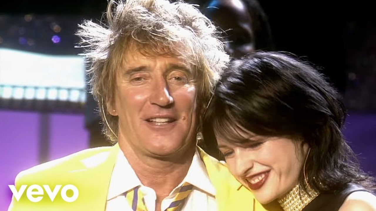 I Don't Wanna Talk About It - Rod Stewart and Amy Belle ...