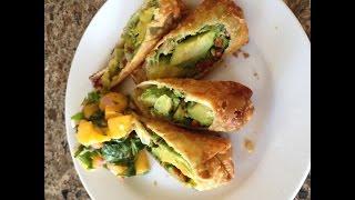 Avocado Egg Spring Rolls Cheesecake Factory Style