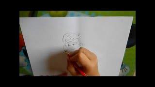 How to draw Martin Kratt - Wild Kratts