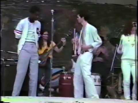 Konk  Love Attack in Tompkins Square Park NYC 1986
