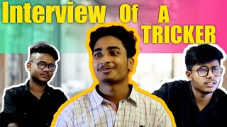 Interview Of A TRIĊKER || Team Kicxters