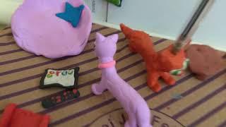 Сериал пластилиновых  котов 2 серия