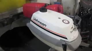 Лодочный мотор Джонсон 3.5 л.с. технические характеристики, цена, отзывы, видео, фото