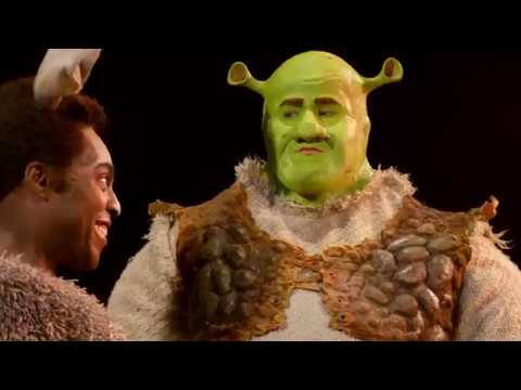 SHREK THE MUSICAL  2018 UK Tour with Stef Harri & Laura Main