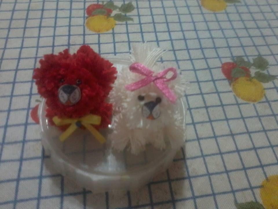 Parte3 como fazer cachorrinho de pompom - YouTube 3bd040c6dc1