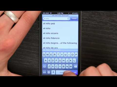 How Can I Do Spanish Symbols on the iPhone? : Tech Yeah!