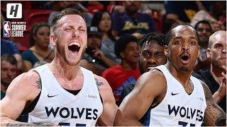 Brooklyn Nets vs Minnesota Timberwolves - Full Game Highlights | July 14, 2019 NBA Summer League