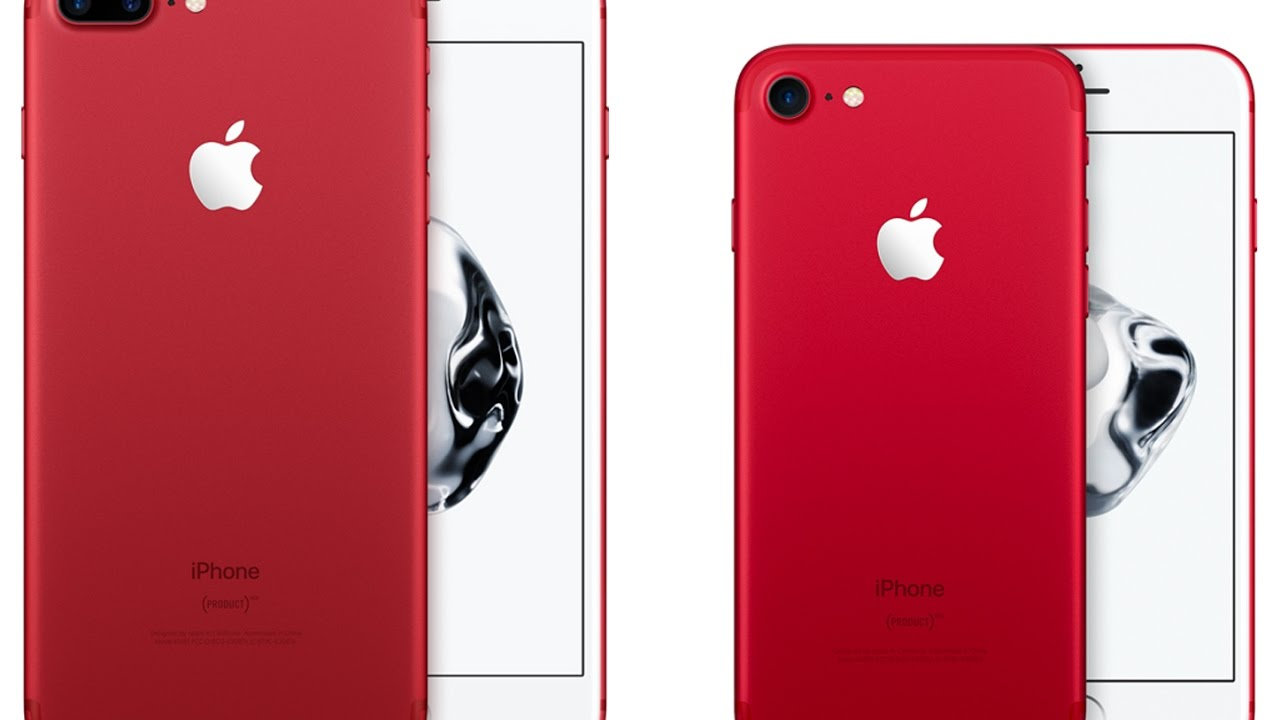 Iphone 7 Iphone 7 Plus Red Variants Unveiled India Price Youtube