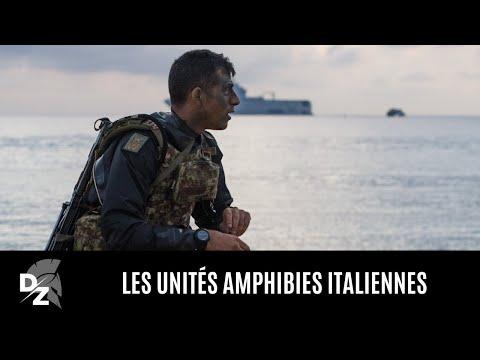 Les unités amphibies italiennes