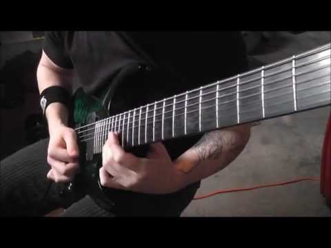 Tyler Teeple - Dream Theater - Constant Motion Guitar Solo Cover