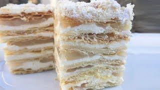 Вкуснейший Торт Наполеон на НОВЫЙ ГОД. НОВОГОДНИЙ ТОРТ.Семейный рецепт