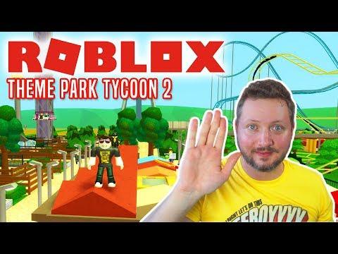 VI ER TILBAGE I! - Roblox Theme Park Tycoon 2 Dansk Ep 6