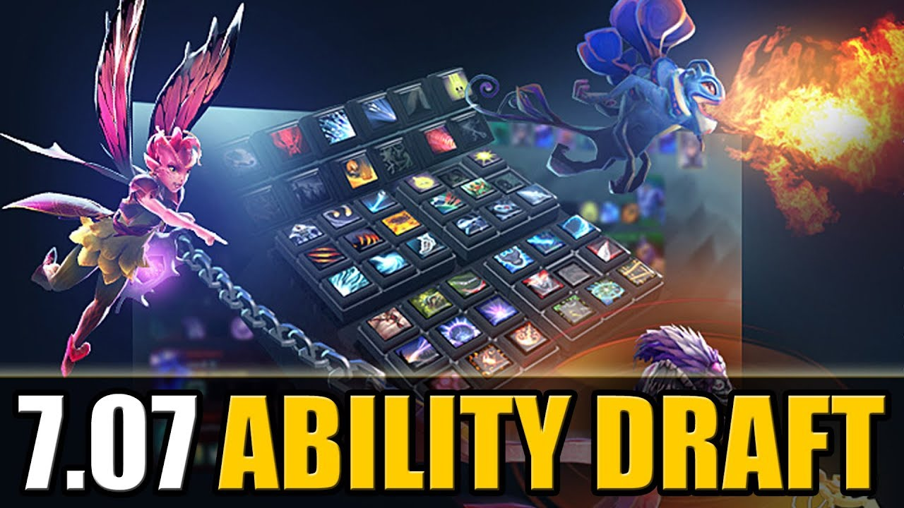 New ABILITY DRAFT 7.07 Update [Quick Patch Review] Dota 2