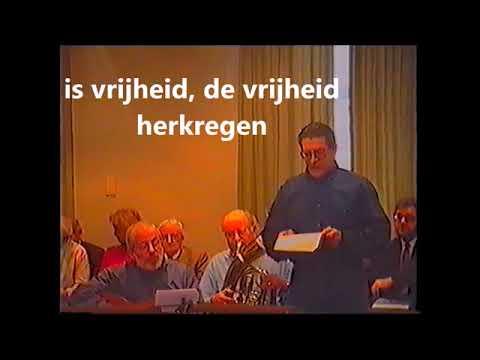 vier november 1944 lied bevrijding Drunen Elshout