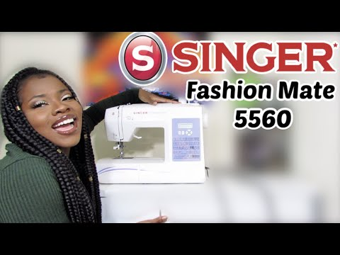 Download BEST SEWING MACHINE FOR BEGINNERS | Singer Fashion Mate 5560