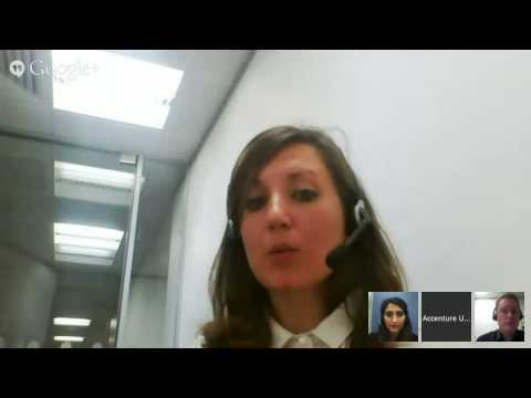 Accenture Hangout with Recruiters