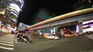 Canon 5D Mark III 台北 TAIPEI 實際錄影測試 夜景 交通 繁華 5d3 WB0043 2012