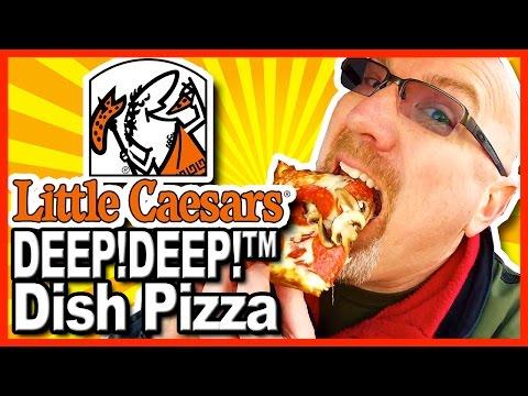 Little Caesars ★ DEEP! DEEP!™ Dish Pizza + Crazy Bread® Review