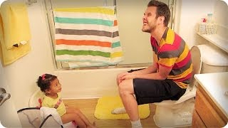 How To Potty Train A Toddler!!!