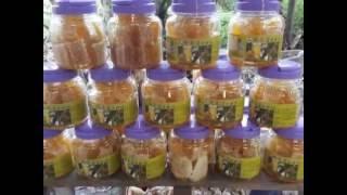 蜂巢蜜採收,蜂蜜+花粉+蜂膠營養成份一口全吃到 - 飛來蜜養蜂觀光農場