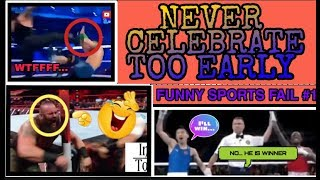NEVER CELEBRATE TOO EARLY | FUNNY SPORTS FAIL | HINDI | TFA