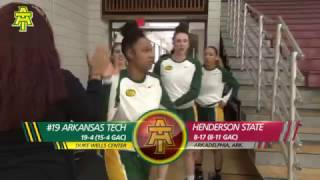 Tech Women's Basketball vs. Henderson State Highlights - 2/18/17