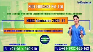 Pice Educare - Best Study MBBS Abroad Consultancy In India #StudyMBBSabroad #OverseasMBBS
