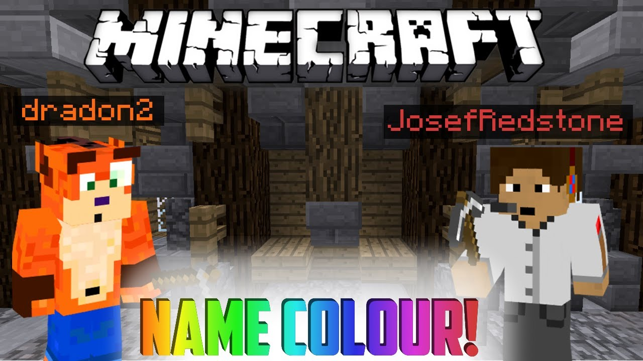 How to change your IGN Name Color - Minecraft - YouTube