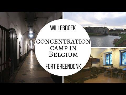 CONCENTRATION CAMP in Belgium, Fort Breendonk -  Willebroek - Visit Belgium #40/589