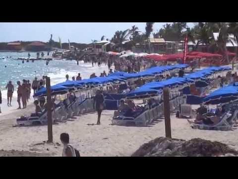 Bikini Beach Orient Bay Saint Martin - St Maarten Orient Beach