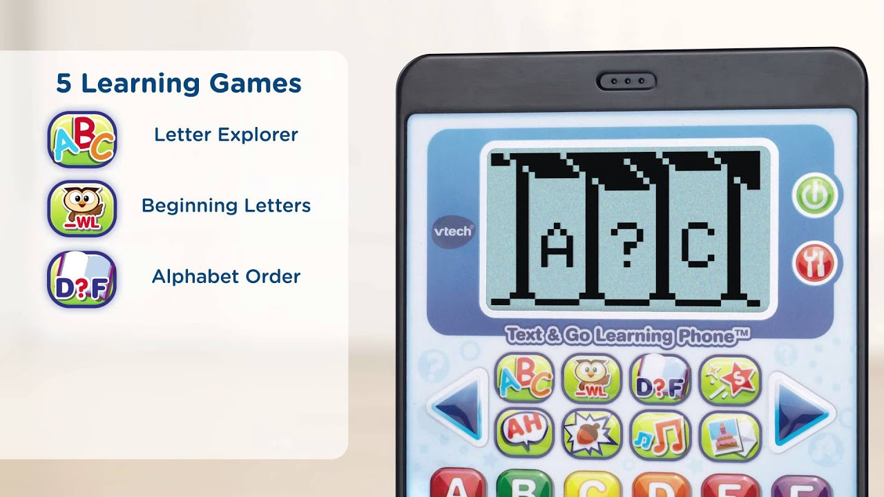 Vtech Infant  Preschool Text  Go Learning Phone  Youtube