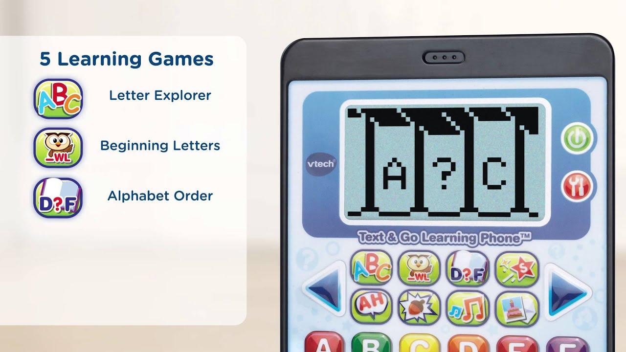Vtech Infant  Preschool Text  Go Learning Phone  Youtube