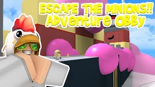 Roblox┆ESCAPE THE MINIONS!! Adventure Obby┆#91