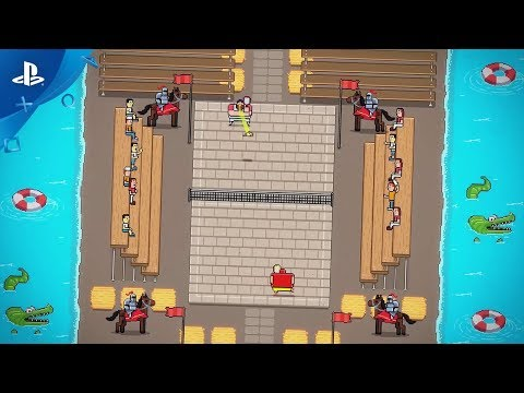 Timber Tennis: Versus - Launch Trailer | PS4