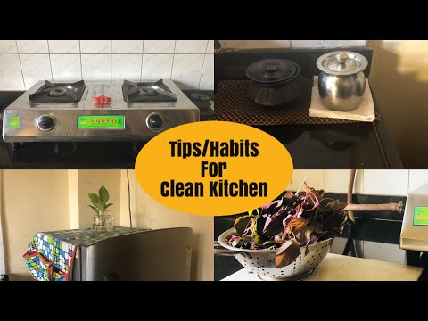 10 Kitchen Deep Cleaning Tips & Tricks In Hindi