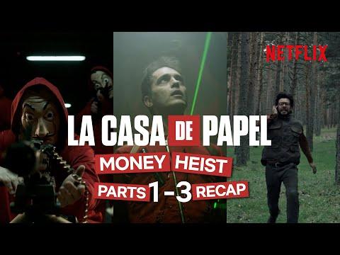 Money Heist/La Casa De Papel Parts 1-3 | Official Recap
