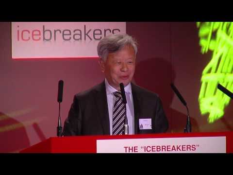 The Icebreakers Chinese New Year Dinner 2017 - Jin Liqun