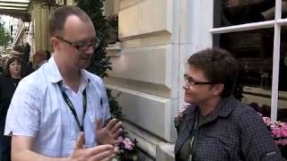 Carsen Taite Vlog Interview at Saints and Sinners 2013