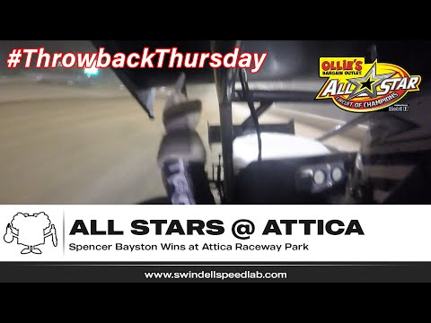 #ThrowbackThursday | Spencer Bayston Wins All Star Circuit of Champions Attica Raceway Park 4.15.17