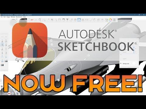 Autodesk Sketchbook Now FREE!