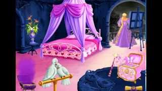 Королевская спальня для Рапунцель. Игра Барби / Barbie™ Принцесса Рапунцель