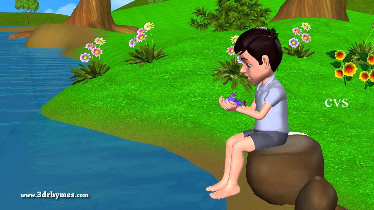 12345 once i caught a fish alive 3d animation english for Once i caught a fish alive